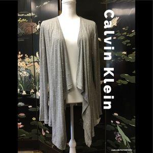 Calvin Klein Cotton Duster Jacket
